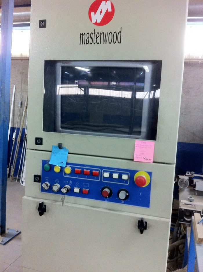 CNC Project Door Masterwood 2003 Segunda mano