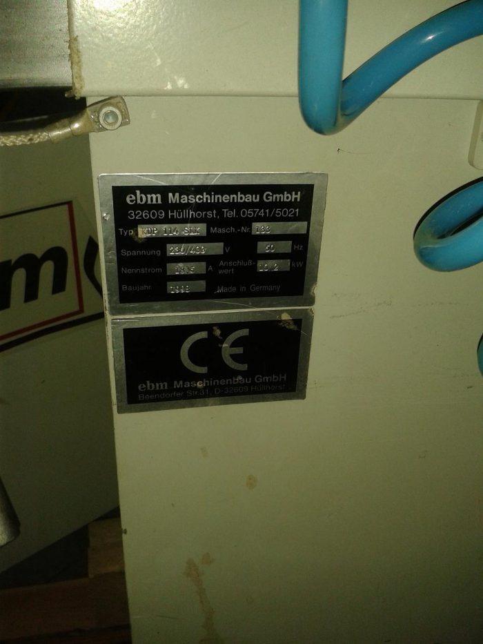 Chapeadora de cantos Hebrock EBM KDP 114 SLK